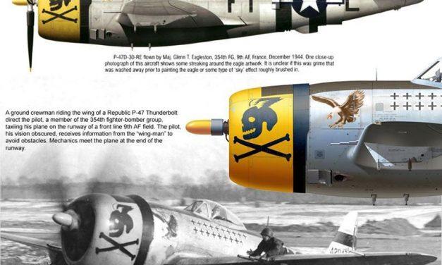 A Republic P-47D-30-RE of Maj.