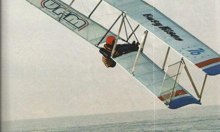 """""""EasyRiser from UFM"""", was the third glider I flew."""