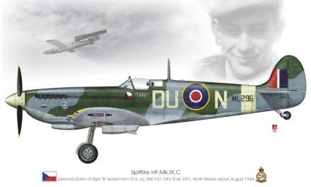 Spitfire HF.Mk.IX.C 312SQ RAF Otto Smik 1944