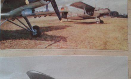 Oben  :  Antonow  An  –  2