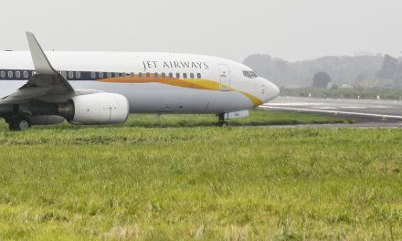 VT-JGG Boeing 737-800 Jet Airways   Taxying to Runway at VGHS. Photo taken on July 6, 2012