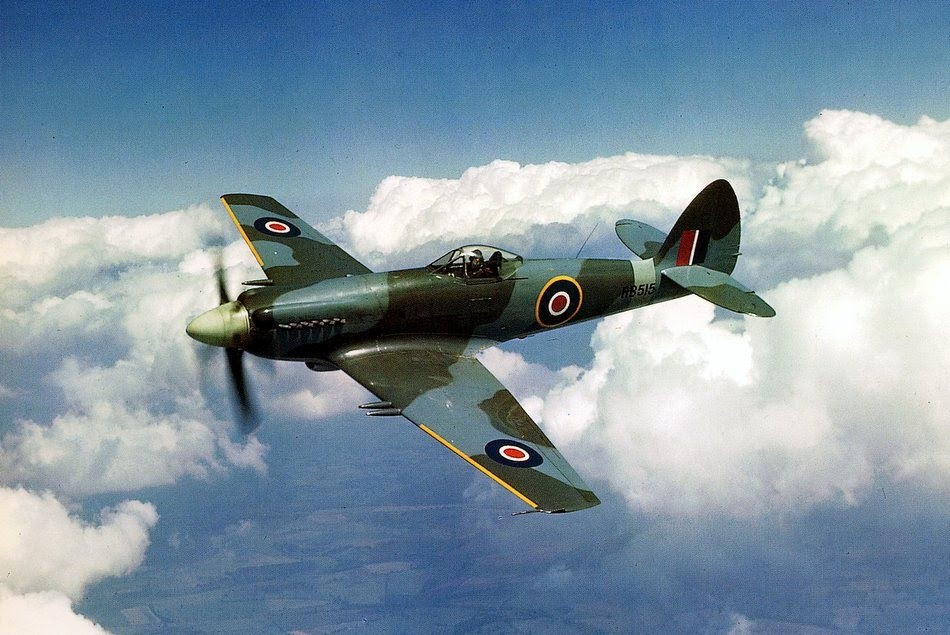 The Vickers-Supermarine Spiteful.