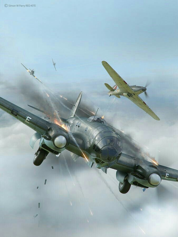 I added this post to my newest collection The Battle of Britain.