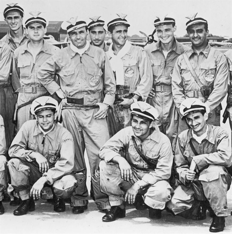 WWII Brazilian Air Force Aircrews