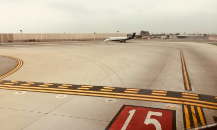Saw this today in KBUR.  Embraer Legacy.