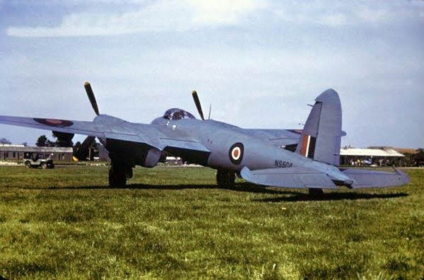 A collection of colour photographs of the famous De Havilland Mosquito in its many guises such as bomber,…