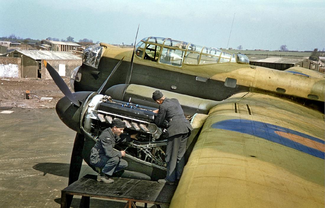 Even the best aero engine of WW2, the Rolls Royce Merlin, needed regular servicing!