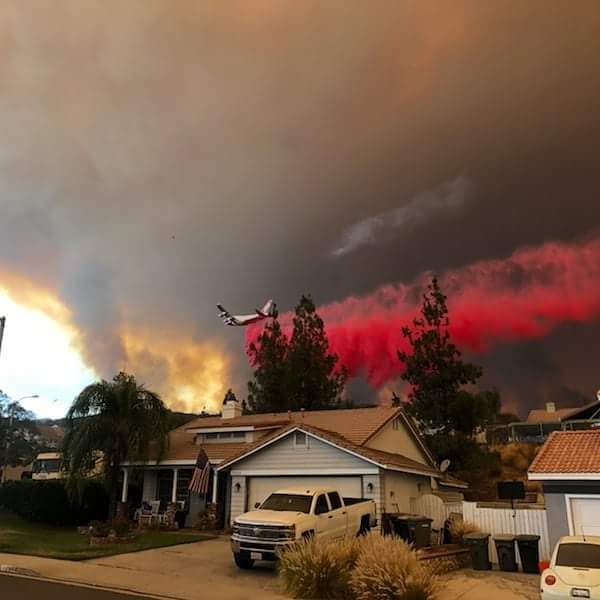 fwd'd to me from a friend who works Field OPS @ LAX. This was taken at his son's house…