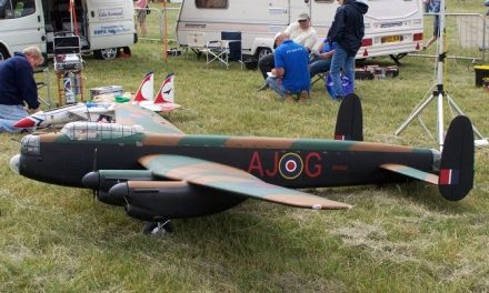We'd all like a model aircraft, but I'd really like this one…designed and hand built by a fellow fanatic! 🙂
