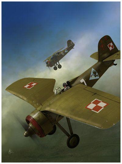 Poland 🇵🇱 – Polish PZL P11a by ~dugazm