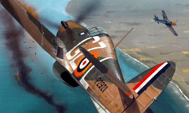 Aces of the Hurricane by Iain Wyllie – Hurricane Mk1 P2921 GZ-L flown by Flt/Lt.