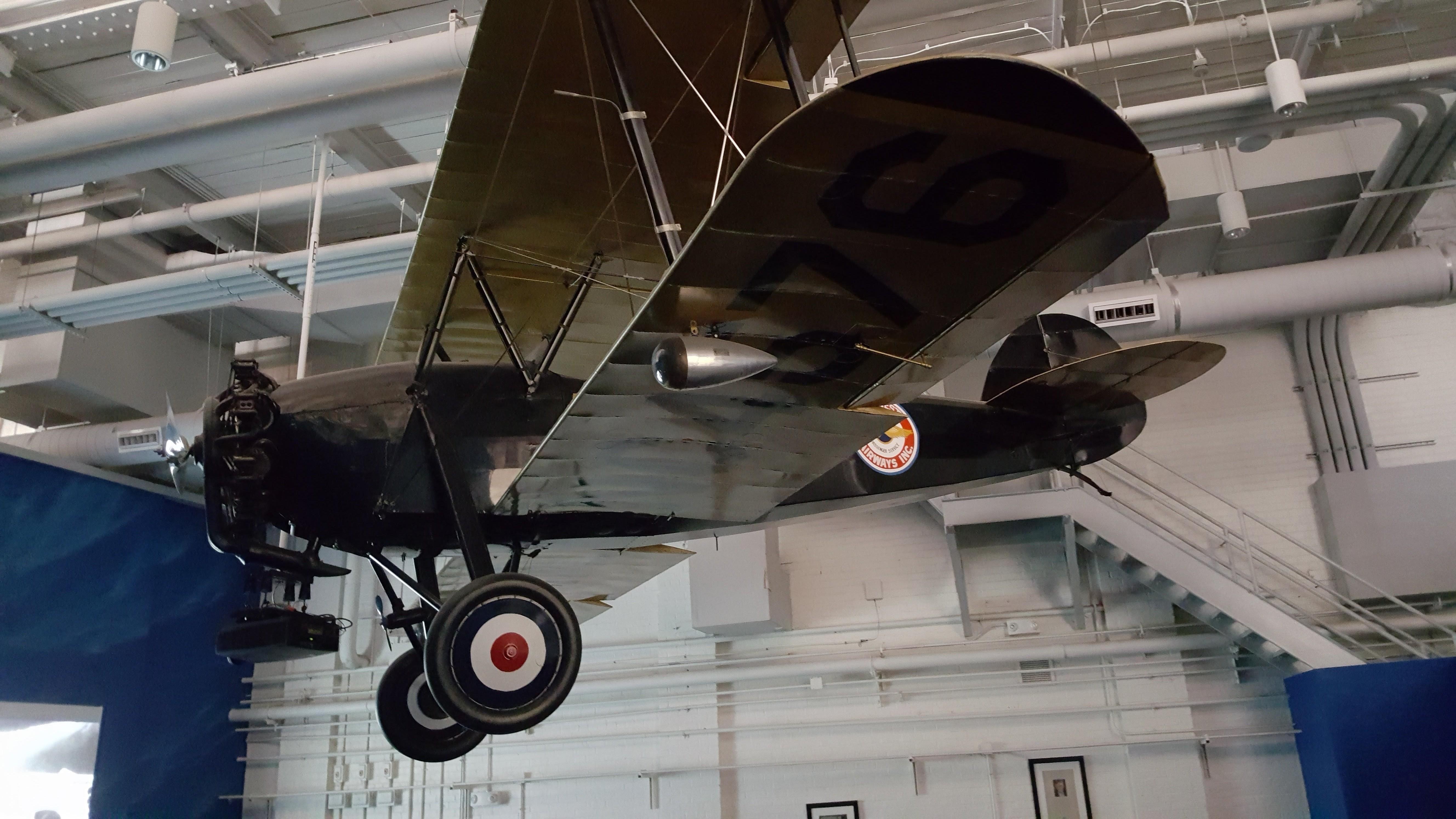 Airplanes at the Delta Flight Museum at the Hartsfield–Jackson Atlanta International Airport.