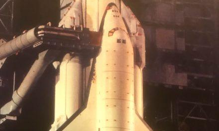 "The ""BURAN"" at launching."