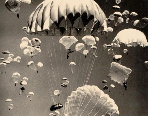 To zdjęcie mnie oczarowało …spadochrony …spadochrony