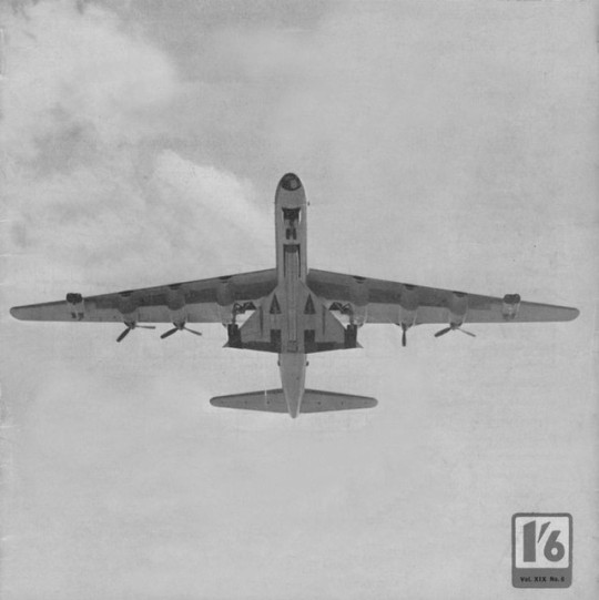 B-36 carrying a B-58 airframe in it's bomb bay.