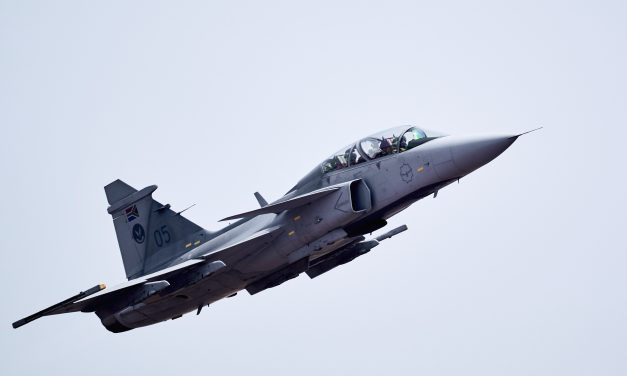 SAAB Gripen during AAD 2018