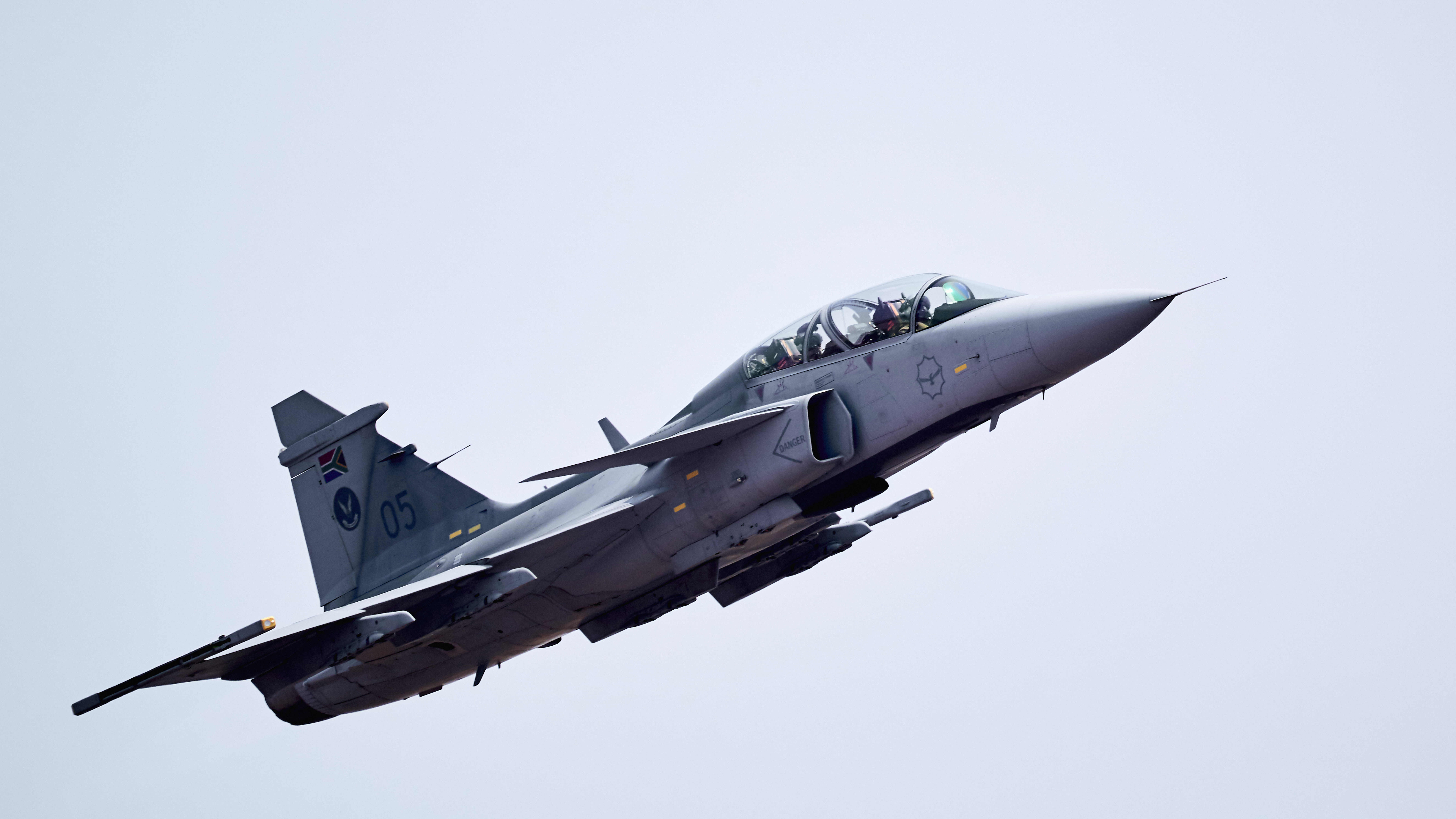 SAAB Gripen during AAD 2018