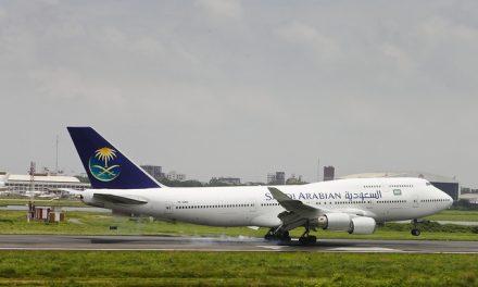 Saudi Arabian Airlines Boeing 747-441 (TF-AMX) Landing at Dhaka Airport (DAC/VGHS)