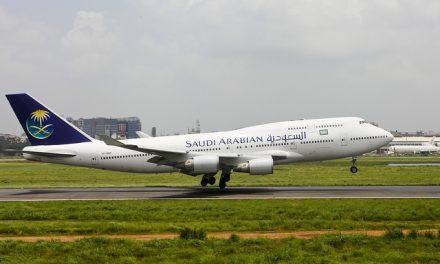 Saudi Arabian Airlines Boeing 747-441 (TF-AMX) Landing at Dhaka Airport (DAC / VGHS)