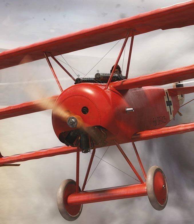 """Fokker Dr. I – """"The Red Baron"""""""