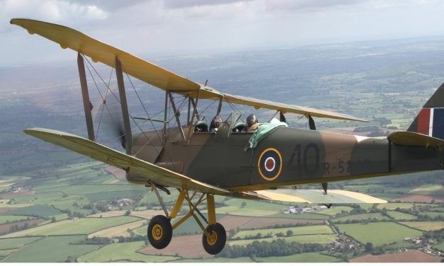"I am currently reading Geoffrey Wellum's book ""First Light"". Wellum trained on Tiger Moth aircraft."