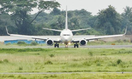 Jet Airways Boeing 737-85R ( VT-JGU ) taxiing at Hazrat Shahjalal International Airport, Dhaka – VGZR