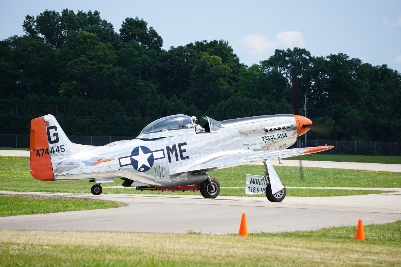 My own pic of Pecos Bill prepping for a flight at Oshkosh last summer.