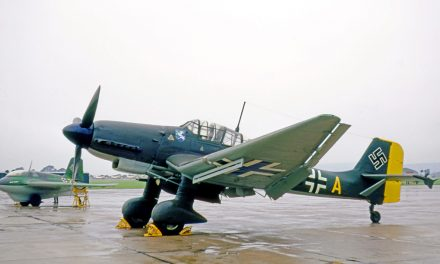 Junkers Ju 87 Sturzkampfflugzeug, composé de trois mots : « Sturz » (chute), « Kampf » (combat) et « Flugzeug »…
