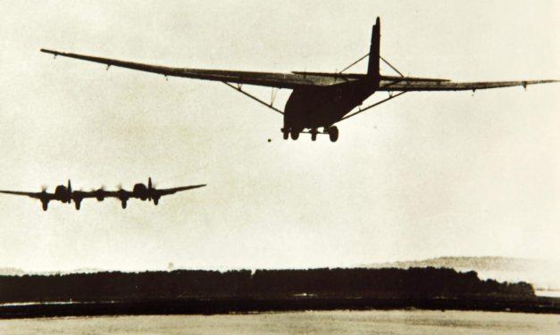 He – 111 Z schleppt DFS – 230