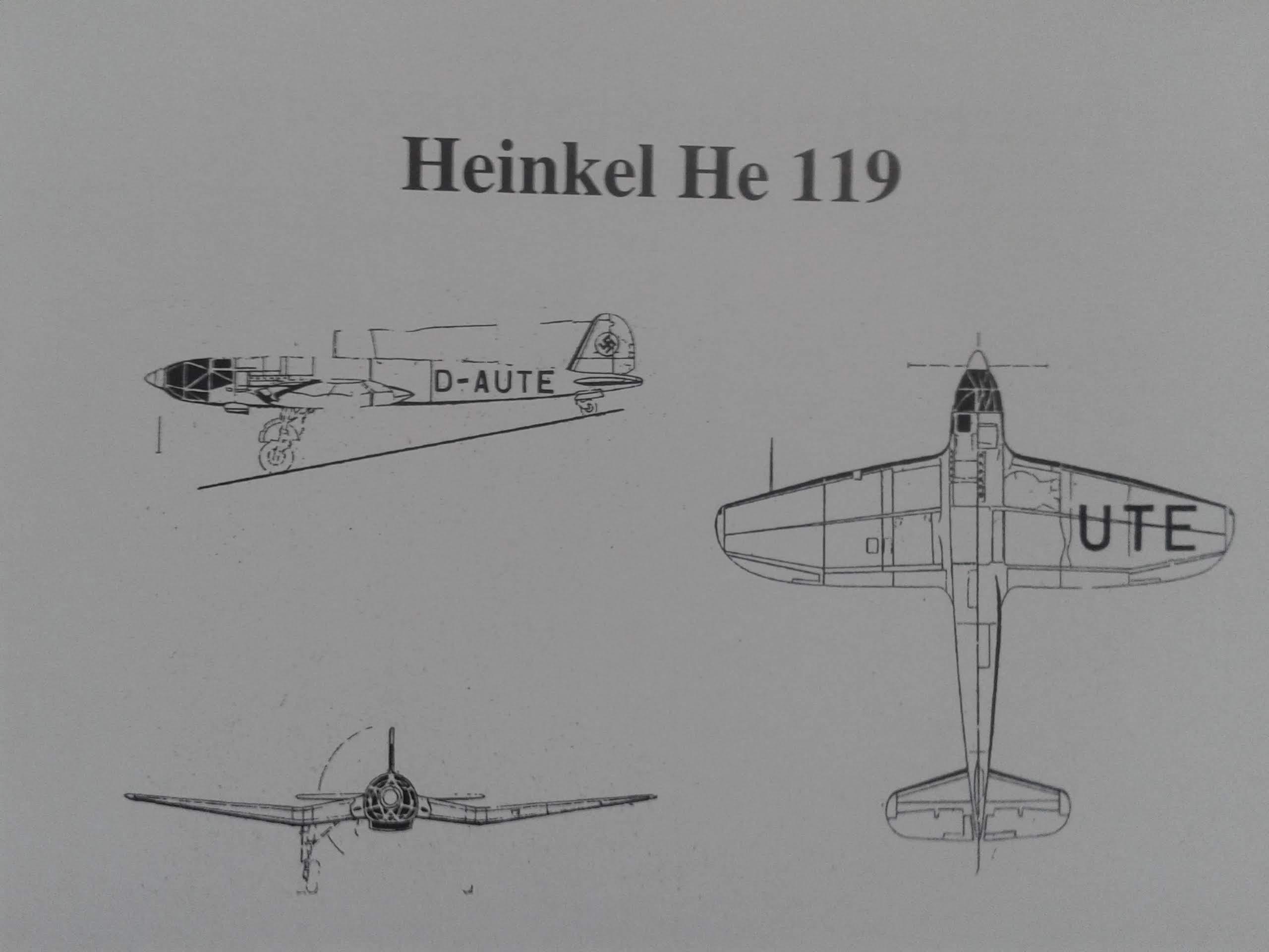 HEINKEL  HE  – 119