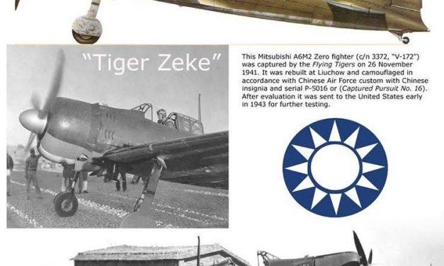 """Die """" ZERO A6M2 """" in fremden Diensten . . ."""