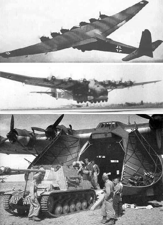 """Messerschmitt Me – 323 """" Gigant """""""